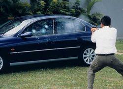 Blindagem vidros veículos