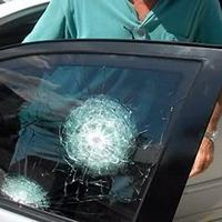 Conserto de vidros blindados automotivos