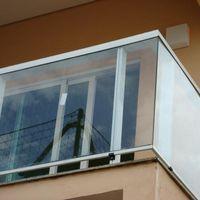Guarda corpo varanda vidro