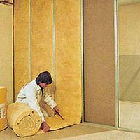 Lã de vidro para isolamento térmico e acústico