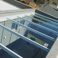 Projetos de coberturas de vidro