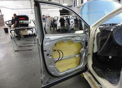 Manutenção de vidros blindados