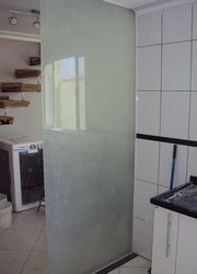 Jateamento de vidro industrial