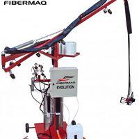 Máquina de aplicar fibra de vidro