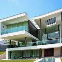 Pele de vidro fachada