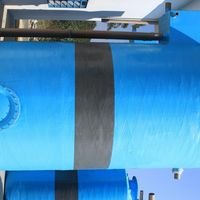 Tanque de fibra de vidro para indústria
