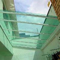 Telhado de vidro - LOTE MÍNIMO DE 200 METROS DE TELHA